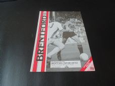 Brentford v Oxford United, 1990/91 [Fr]